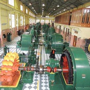 Machine floor generators & turbines