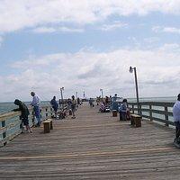 On the Avalon pier