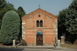 tempio sacrario cavalleria chiesa rossa Voghea