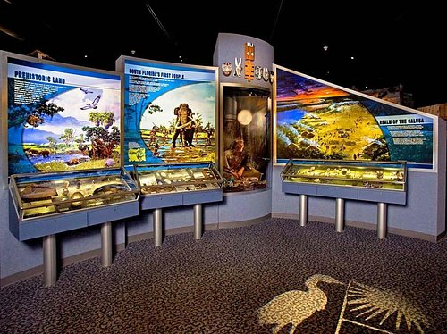 Exhibit hall of the Collier County Museum