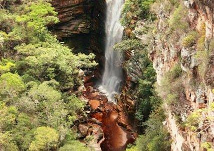 Cachoeira dos Mosquitos vista do Mirante