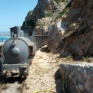 Il trenino alla fine della miniera