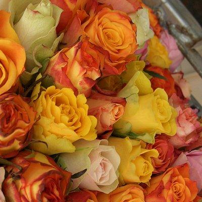Puestos de Flores en Winterfeldt Markt