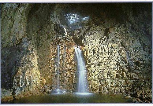 Grotte di Stiffe_La cascata