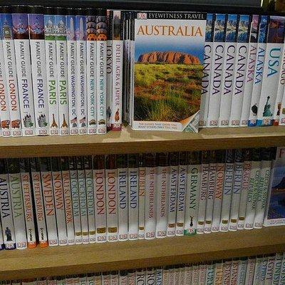 Eslite Bookstore - Good travel book section