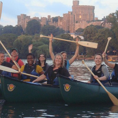 Fun on the River with views of Windsor Castle