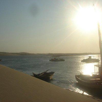 Vista de cima das dunas de Mundaú
