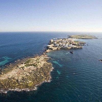 Nueva Tabarca (vista aérea desde el islote de La Cantera)