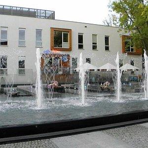fontanna przed Pleciugą