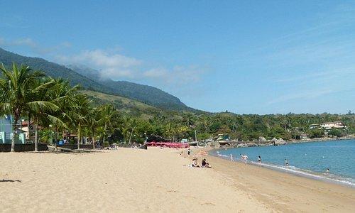 vista parcial da praia