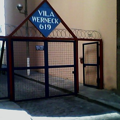 Vista da entrada da Vila - Rua Guajajaras