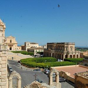 Panorama di Noto dal Palazzo Nicolaci