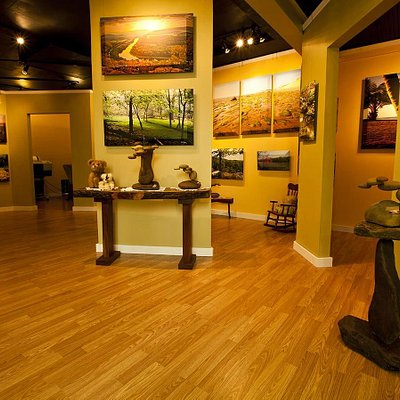 Art gallery at 6 Merrywoods Dr.