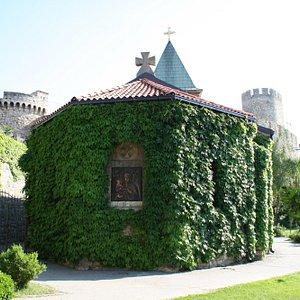 Church in Kalemegdan Park - Historical Site Part