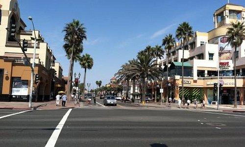 Downtown Huntington Beach CA