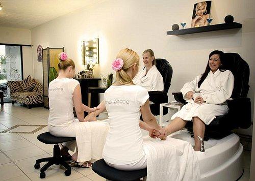 Relaxing Pedispa Massage Chairs