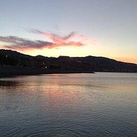 Spiaggia, mare, poesia...al tramonto.