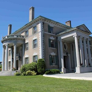 The Governor Hill Mansion on the corner of State and Green Streets in Augusta