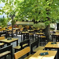 Our large green terrace is a real oasis! :)