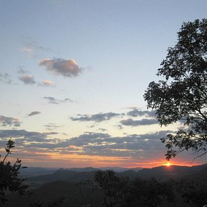 Por do Sol Parque dos Pirineus em Pirenópolis, GO.