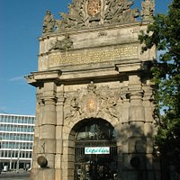 The Harbour Gate - western entrance