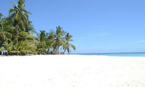 Playa en la Isla de Los Soldados