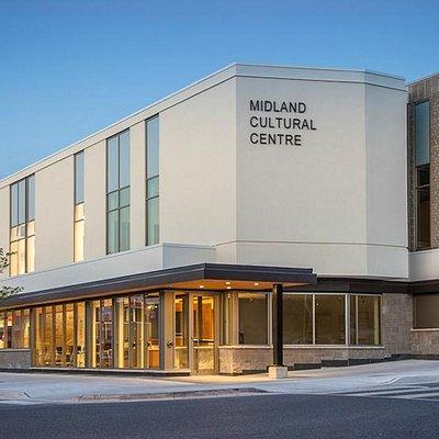 Exterior of the Midland Cultural Centre