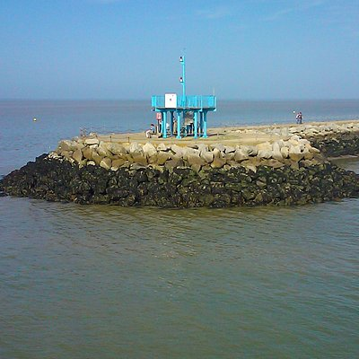 View from the pier of Neptune's Arm, Herne Bay 15 Sept 2012