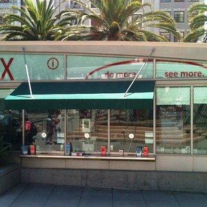 TIX Bay Area Booth in Union Square