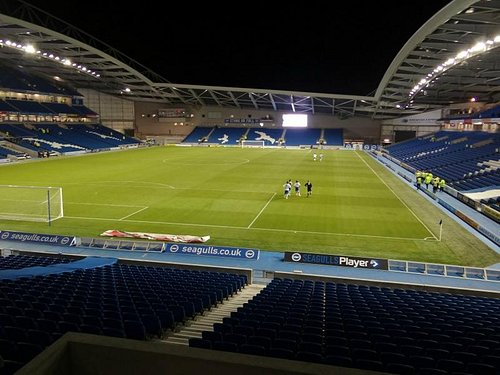 view from south stand