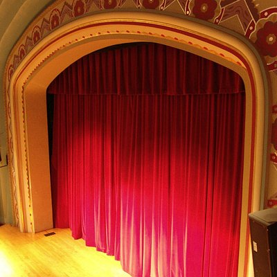 The Avalon Theatre's Stage