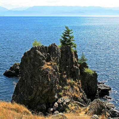 Remarkable views across the Straits of Jean de Fuca