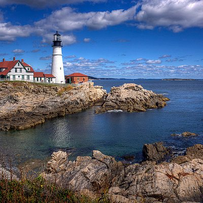 North America's most photographed and Maine's oldest lighthouse