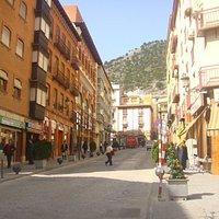 Calle Colón, vista ascendente.