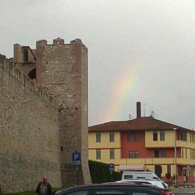 Arcobaleno a Marostica.