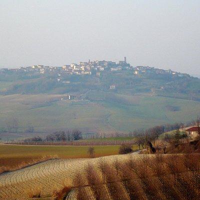 Dalla panoramica tra Lu' e Cuccaro