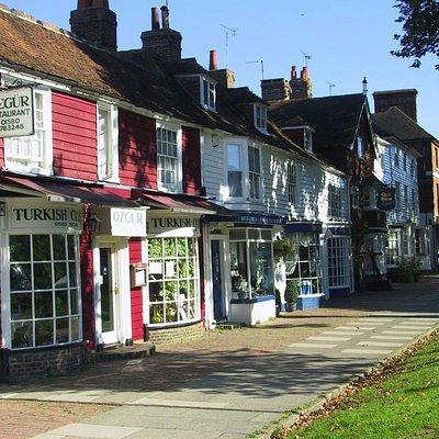 Lower end of High Street, Tenterden