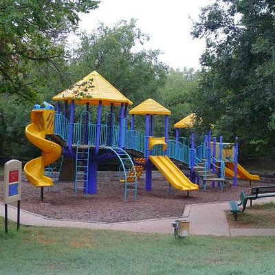Childrens play area at Hafer Park