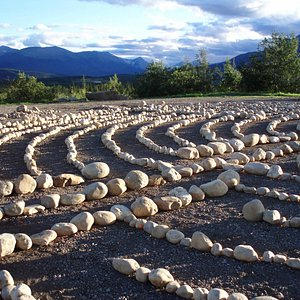 Grande Cache, Alberta Labyrinth Park