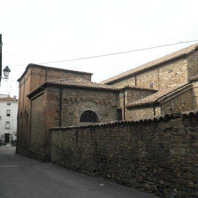 retro della parrocchiale
