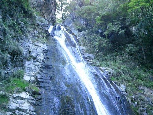 Un tratto della seconda cascata