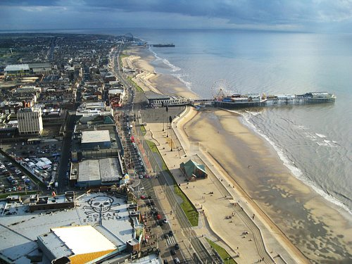 Central Pier viewed from the Tower.