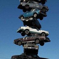 The Spindle of Cars (aka Car Kabob)