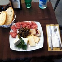soppressa della Lessinia, ricottina al pepe, stracchino fresco, Monte Veronese, Parmigiano 36 me