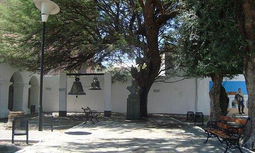 Patio interno del convento
