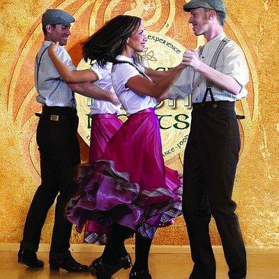 The polka set dance