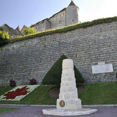 Square du Canada, Dieppe France