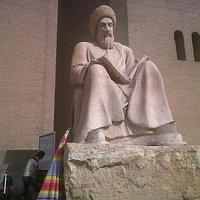 Statua Maometto all'ingresso della Cittadella