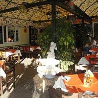 A traditional greek taverna