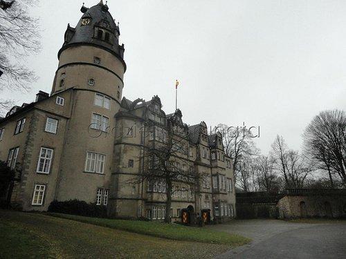 Schloss in winter